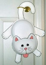 Love all these paperplate crafts. So stinking cute! : cat paper plate craft - Pezcame.Com