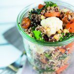 Salat mit gebackenem Gemüse und Zedernüssen | FOODIST STORIES | Bloglovin'