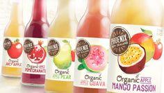 + Design de embalagem :     Muito bom o trabalho da Curious Design para a marca de bebidas orgânicas Phoenix.