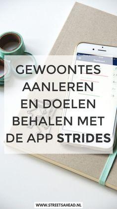 De app Strides helpt je bij het aanleren of afleren van gewoontes, maar ook bij het behalen van doelen. Daarnaast werkt de app ook heel fijn en handig. Lees er nu alles over in dit artikel!