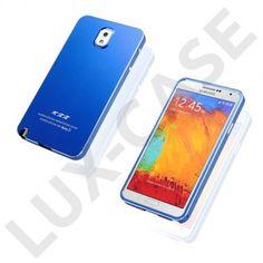KXX (Blå) Samsung Galaxy Note 3 Metall Deksel