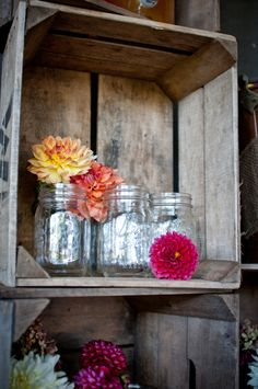 Fall rustic apple bridal inspiration shoot from Dogwood Events, JEM Events and photography by Djijo Studios Photography #mason #jars #signature #drink #station #cocktail #barn #reception #wedding