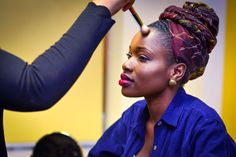Keziah CONNECTIONS and Fashion Fair UK - Oct 2015 Black History Month, October, Dreadlocks, Celebrities, Hair Styles, Beauty, Fashion, Black History Month People, Beleza