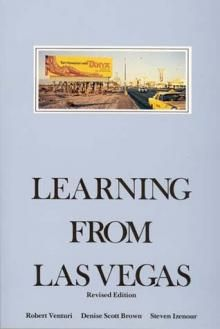 """The controversial book """"Learning From Las Vegas."""""""