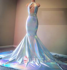 Sleeveless, halter neckline, open bodice with glitter strap and belt sash. Trumpet floor length prom gown with long train. Source by jamelmarion dresses idea Black Girl Prom Dresses, Cute Prom Dresses, Prom Outfits, Long Prom Gowns, Mermaid Prom Dresses, Ball Dresses, Evening Dresses, Wedding Dresses, Bridesmaid Dresses