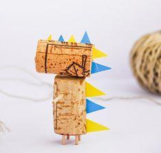 DIY Cork Animals