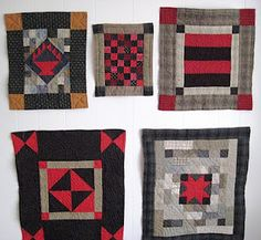 Collection of Little Welsh Quilts by Mary Jenkins