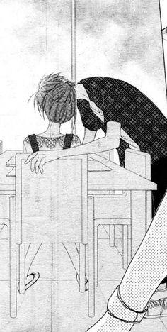 Faster than a kiss Manga - Kaji and Shouma.  I like both Kazuma and Shouma :( She should just end up with both lol