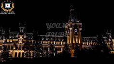 Palace of Culture Iași, Romania Romania, Big Ben, The Good Place, Night, Amazing Places, World, Building, Palace, Tube