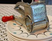 Vintage French Mouli Grater 1950's Kitchen Gadget