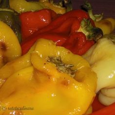 Hungarian Recipes, Pickles, Stuffed Peppers, Vegetables, Food, Canning, Stuffed Pepper, Essen, Vegetable Recipes