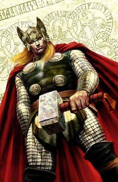 Thor by Max Bertolini