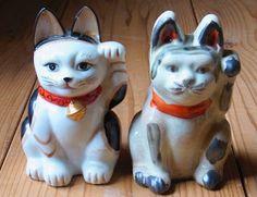 八郷の日々: 三河系招き猫