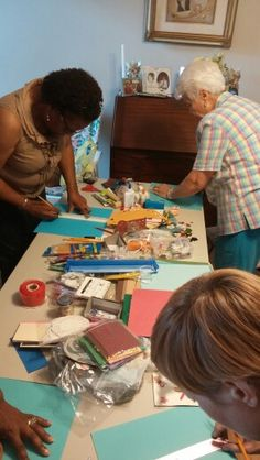 Gift making time for the delegates... picture and comment via Angel Carter. Thanks for sharing @angelcarter