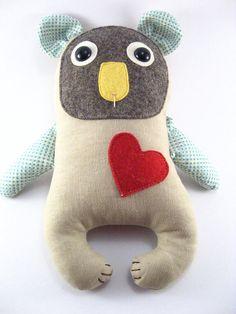 Seth the Koala soft toy.