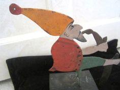 Vintage Metal Figural Balancing Folk Art by JewelsOfHighElegance, $20.00