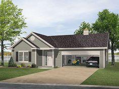 garage with apartment plan .. http://justgarageplans.com/3520/plan ...