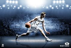 BYU Basketball 2013-2014 by Kimberly Cook, via Behance