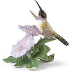 Black Chinned Hummingbird Figurine by Lenox
