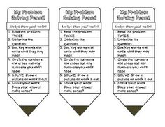 I designed this tool as a problem solving strategy to help my students. With these steps students should, hopefully, need less assistance during in. Fifth Grade Math, Problem Solving Skills, Math Resources, Math Games, Free Printables, Mindfulness, Teacher, Education, School Ideas