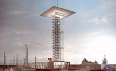 Renzo Piano Tower in Genoa