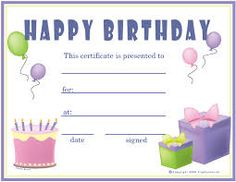 Free printable gift certificate forms free certificates birthday free girl printable image result for happy birthday gift cards for boys yadclub Choice Image