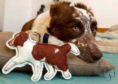 Custom Pet Likeness Personalized Plush Pendant by LocoGlam on Etsy