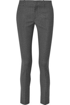 Gucci Printed wool-blend skinny pants | NET-A-PORTER
