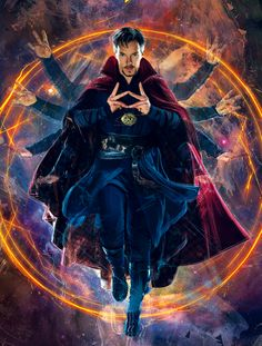 Doctor Strange Poster Collection: Printable Posters For All Marvel Fans Who cannot be a fan of Benedict Cumberbatch or our very own Marvel superhero Doctor Strange? Check out our awesome Doctor Strange poster collection. Iron Man Avengers, Marvel Avengers, Marvel Comics, Marvel Memes, Marvel Doctor Strange, Doctor Strange Poster, Doctor Stranger Marvel, Doc Strange, Strange Magic