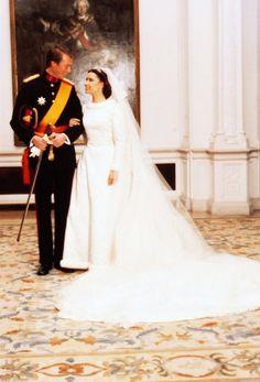 14 February 1981 Luxembourg, Wedding of Hereditary Grand Duke Henri and Maria Teresa Mestre y Batista.
