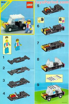 free lego instructions | Inventory of Parts Needed to Build LEGO 6633