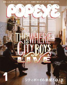 Popeye magazine, January 2013
