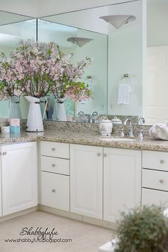 Master Bathroom Decor And My Essentials... - Shabbyfufu