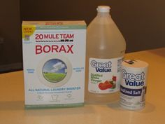 How to Get Poop and Puke Out of Carpet: 2) Mix together: 1/4 cup salt,1/4 cup borax* 1/4 cup white vinegar * Rub the paste into the carpet over the stain and let sit for a few hours.