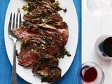 Olive-and-Spice-Rubbed Leg of Lamb Recipe : Food Network Kitchens : Recipes : Food Network