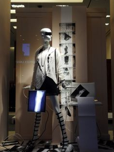 "HOLT RENFREW, ""Inner leg X-ray"", pinned by Ton van der Veer"