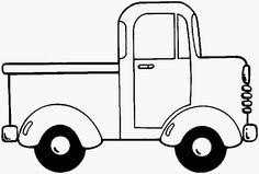 Truck Coloring Page 19 printable coloring page for kids and adults Party Activities, Preschool Activities, Activities For Kids, Senses Preschool, Preschool Colors, Truck Coloring Pages, Printable Coloring Pages, Little Blue Trucks, Transportation Theme