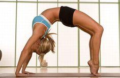SJU doing yoga. I really want to get into yoga