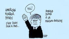 HUGO ROZENBERG CARTOONIST: AMERICAN HORROR STORY DONALD DUMB PRESIDENT OF THE...