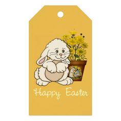 Easter Bunny Holiday gift tag Pack Of Gift Tags