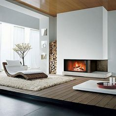 Enclave Deco nos enseña las ventajas y desventajas de cada tipo de chimenea.