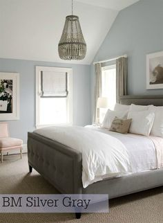 Interior paint color for the new house | Stylish Patina, Silver Gray, Benjamin Moore, see more at www.stylishpatina.com