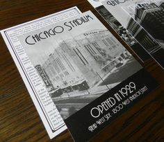 Architecture Table Cards by PurpleSapphireDesign on Etsy, $1.50