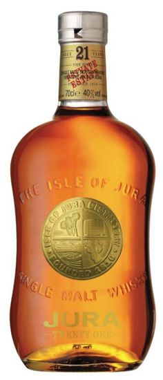 Isle of Jura 21 Scotch Whisky, my first single malt, and it was delicious. I was hooked!