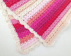 crochet baby blanket pattern – Etsy