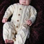 Baby Aran Body Suit