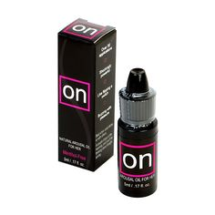 ON, Natural Arousal Oil for Her, increases orgasm intensity, duration and frequency. Designed to enhance intimacy, ON uses an all natural botanical blend of essential oils to create feelings of natural arousal and increased wetness in most women.