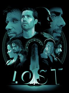 """Lost - Joshua Budich ---- Gallery West -- """"The Official Bad Robot Art Experience"""" Serie Lost, Lets Get Lost, Lost Love, Lost Poster, Lost Tv Show, Devious Maids, Hemlock Grove, Pop Culture Art, Robot Art"""