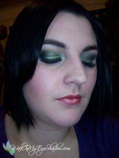 Makeup Monday - Smokey Green, Olive and Blue (Take 2) [Jul '10]