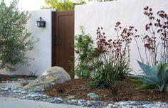 Large Gate Gates and Fencing Grace Design Associates Santa Barbara, CA